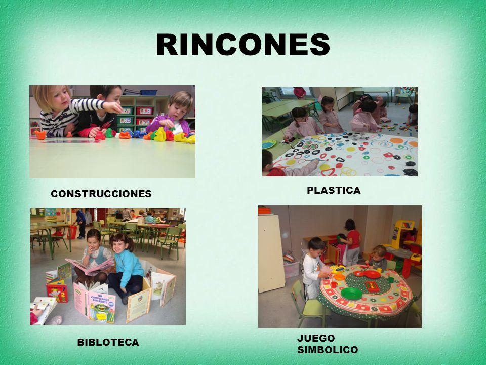 RINCONES PLASTICA CONSTRUCCIONES JUEGO SIMBOLICO BIBLOTECA