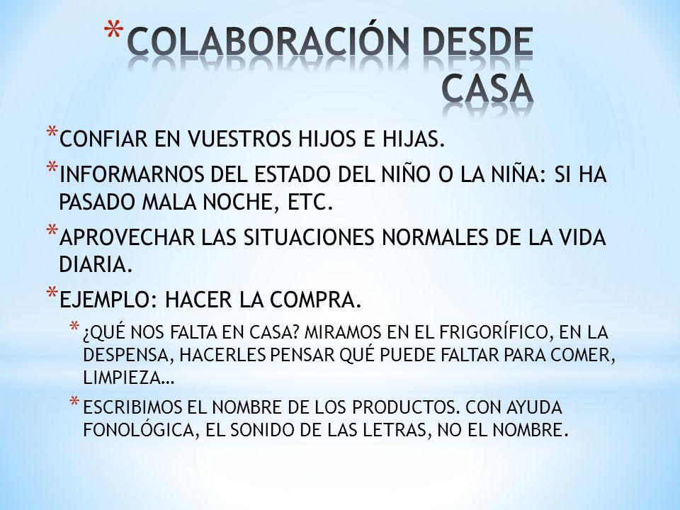 COLABORACIÓN DESDE CASA