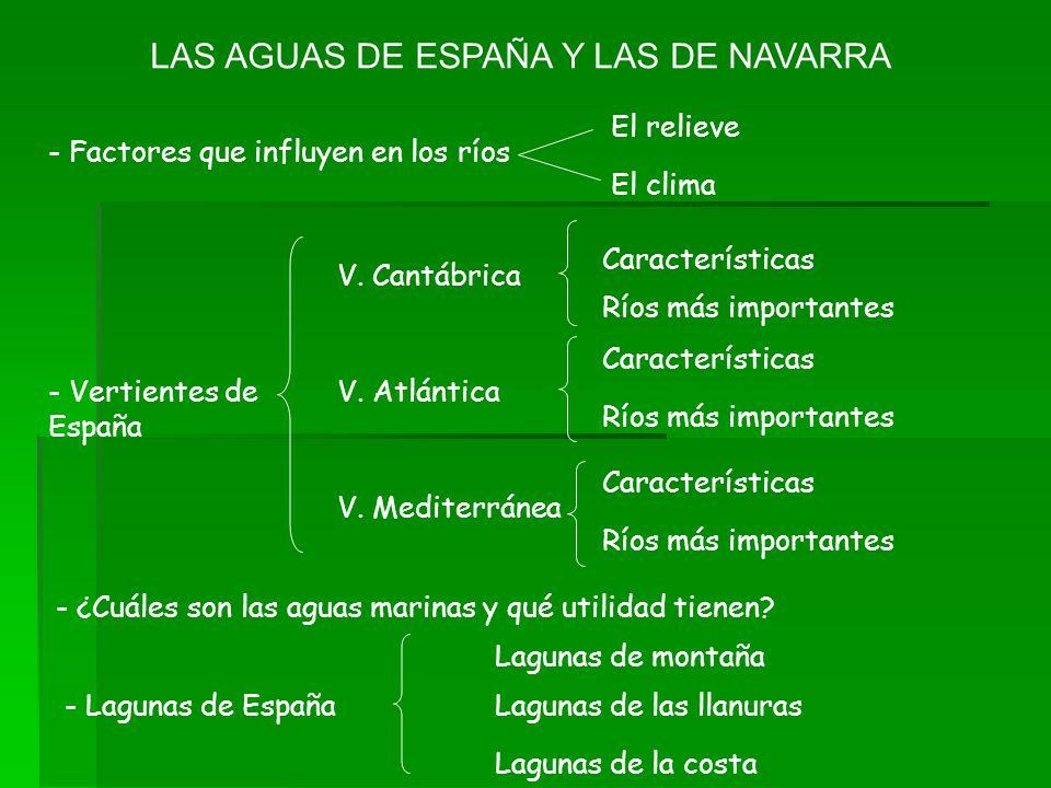 LAS AGUAS DE ESPAÑA Y LAS DE NAVARRA
