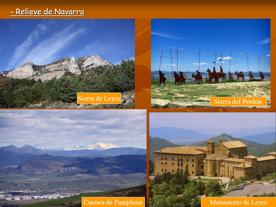- Relieve de Navarra Sierra de Leyre Sierra del Perdón