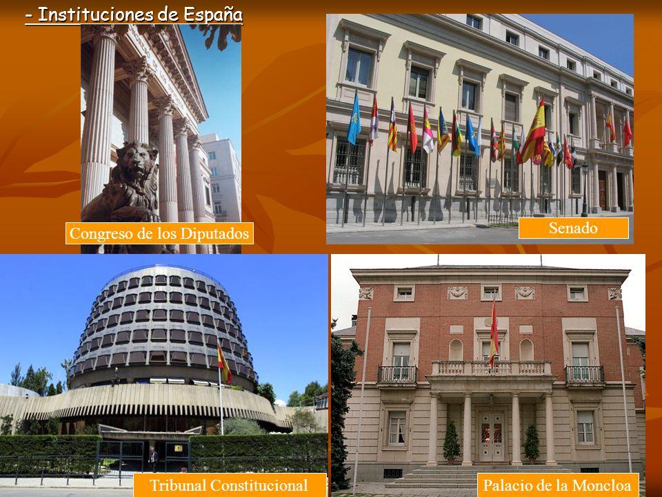 - Instituciones de España