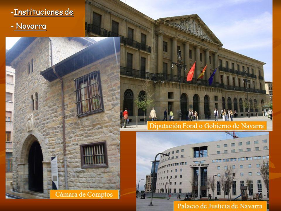 Instituciones de Navarra Diputación Foral o Gobierno de Navarra