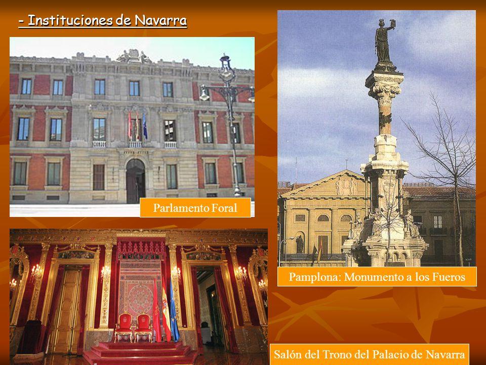 - Instituciones de Navarra
