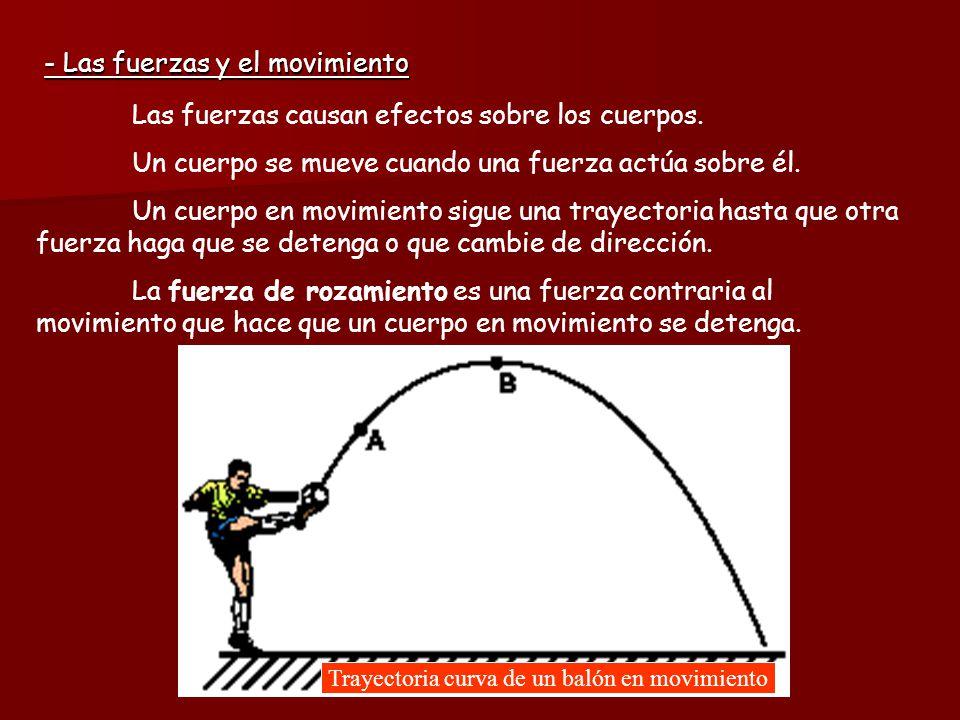 Trayectoria curva de un balón en movimiento