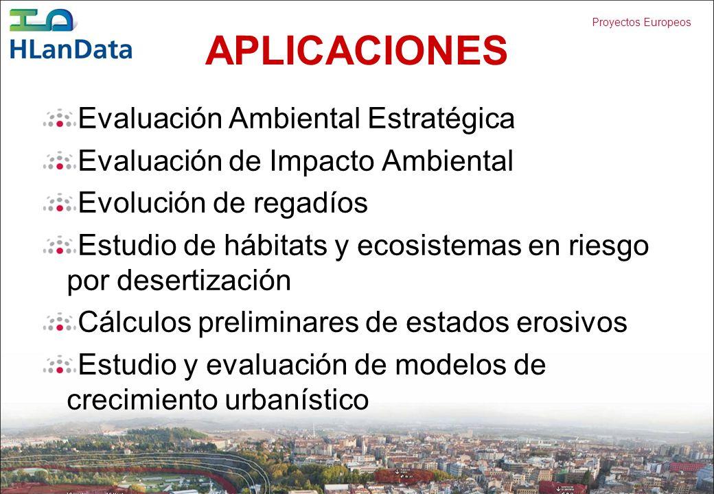 APLICACIONES Evaluación Ambiental Estratégica