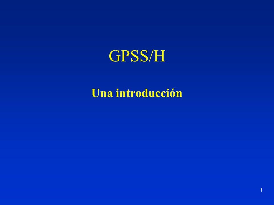 GPSS/H Una introducción