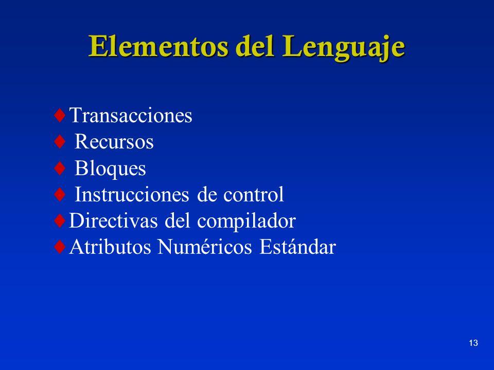 Elementos del Lenguaje