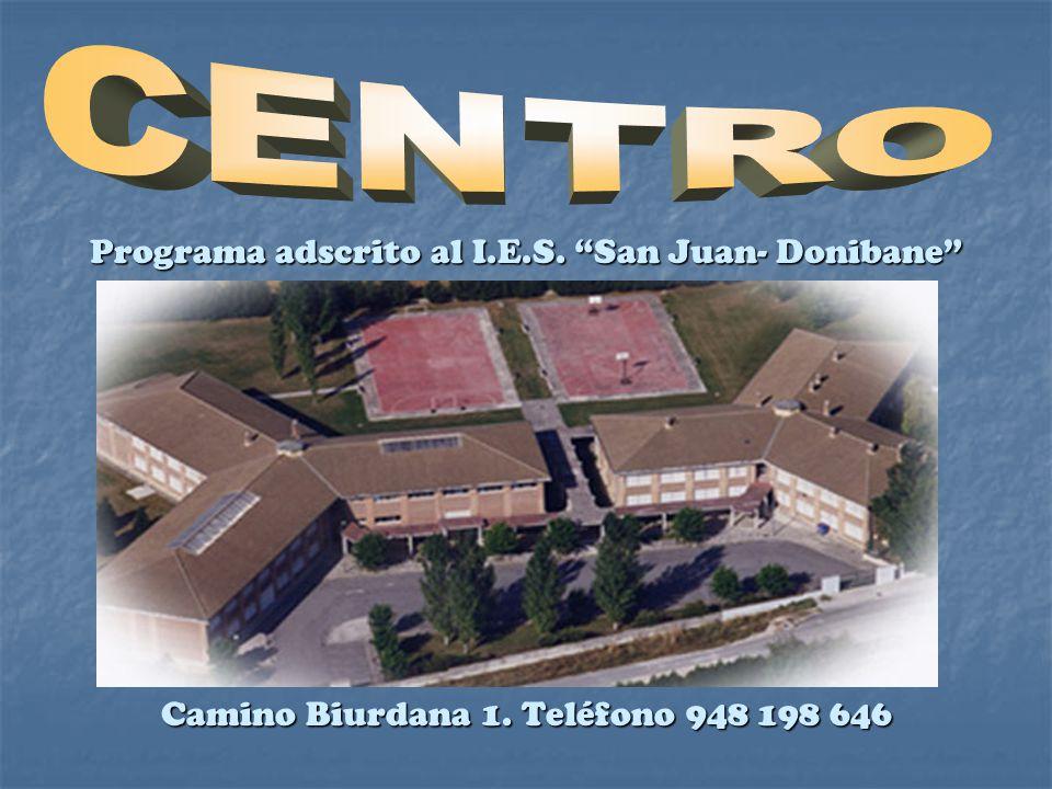 Programa adscrito al I.E.S. San Juan- Donibane