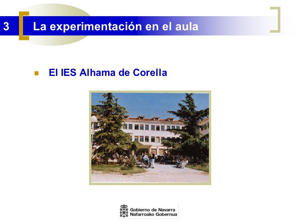 3 La experimentación en el aula