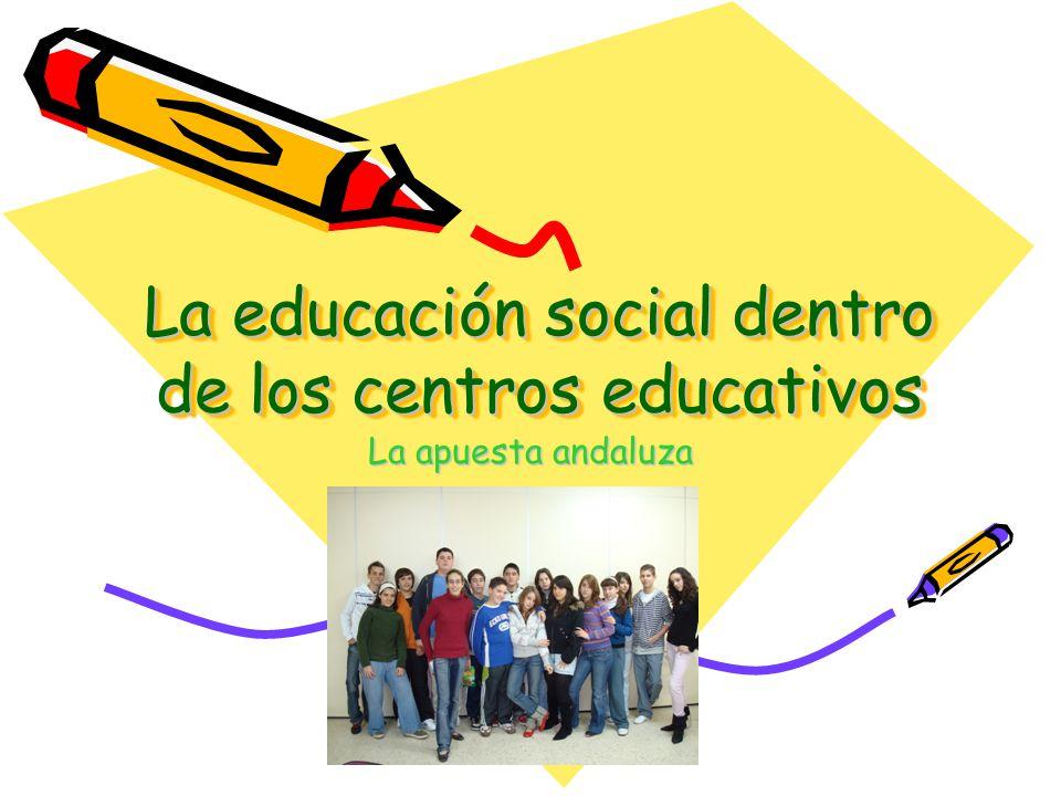 La educación social dentro de los centros educativos