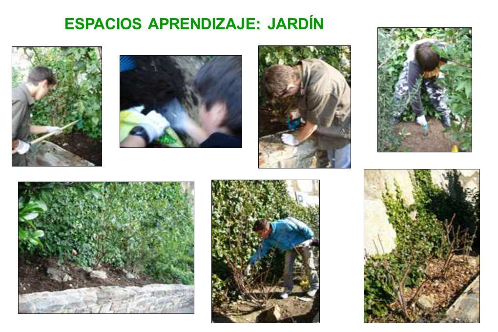 ESPACIOS APRENDIZAJE: JARDÍN