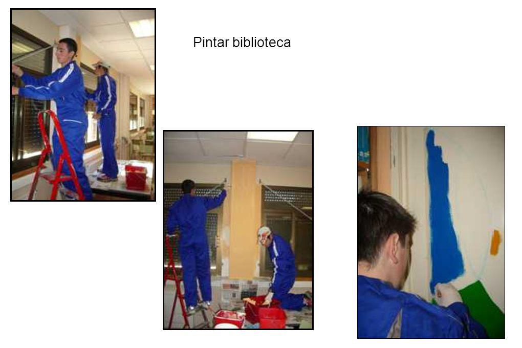 Pintar biblioteca 15