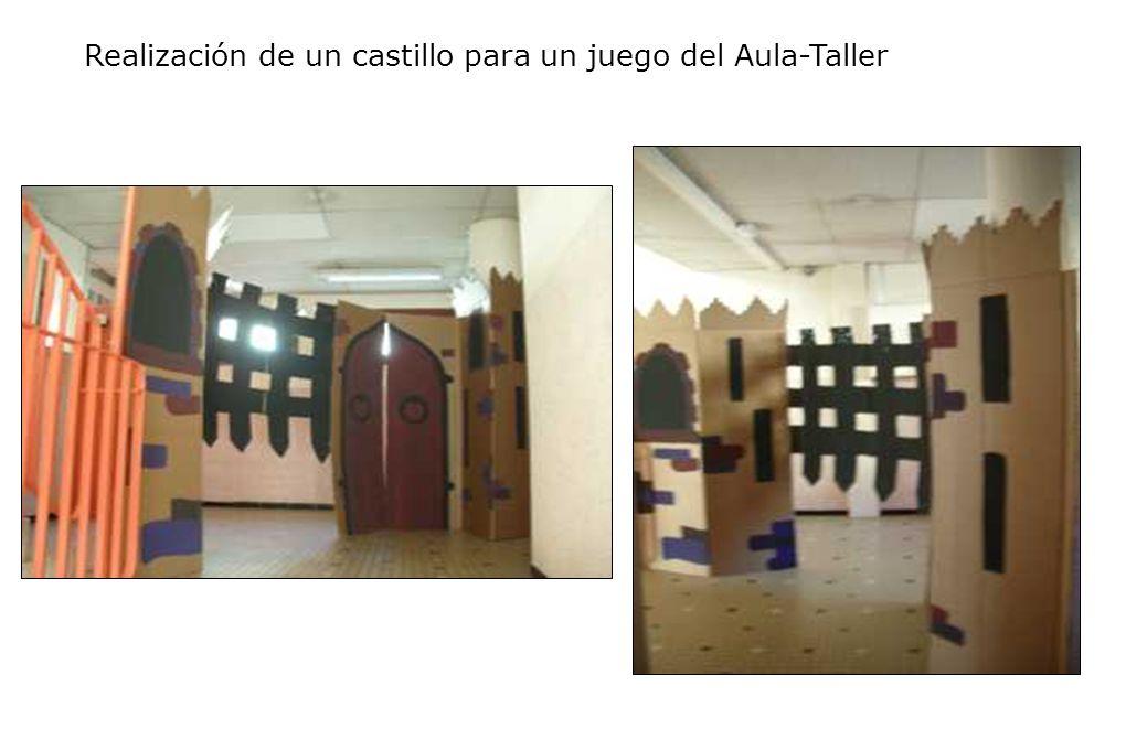 Realización de un castillo para un juego del Aula-Taller