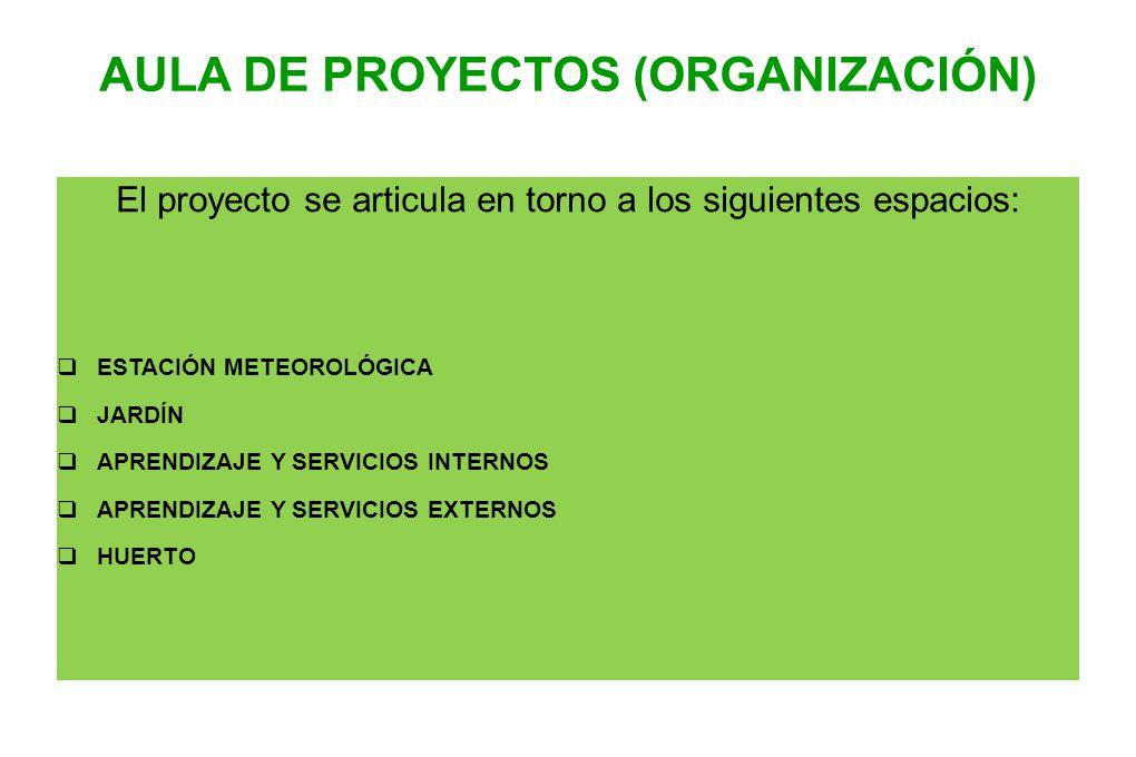 AULA DE PROYECTOS (ORGANIZACIÓN)