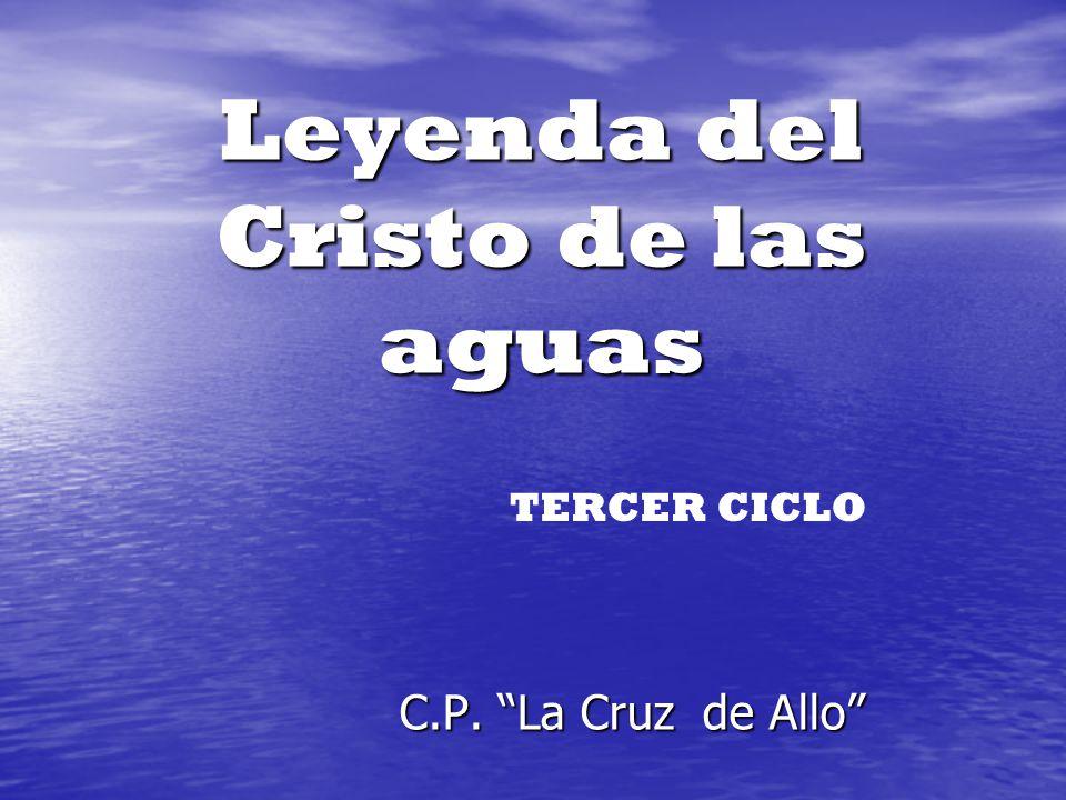 Leyenda del Cristo de las aguas