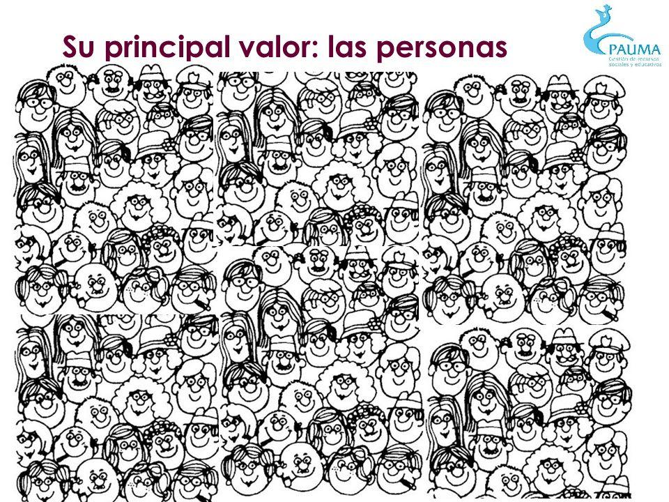 Su principal valor: las personas