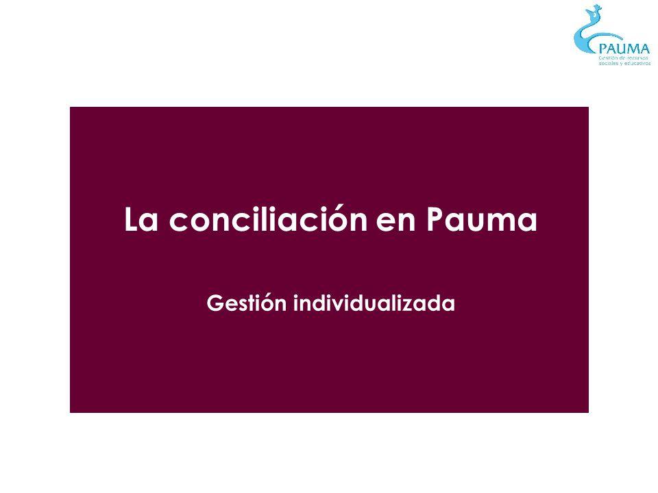 La conciliación en Pauma