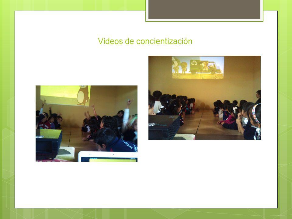 Videos de concientización