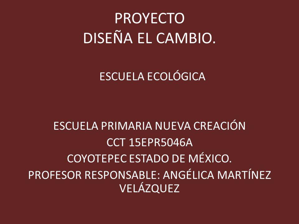 PROYECTO DISEÑA EL CAMBIO.