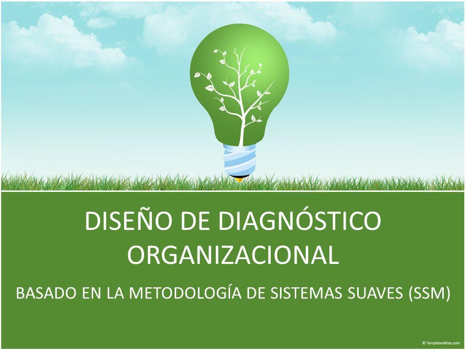 DISEÑO DE DIAGNÓSTICO ORGANIZACIONAL