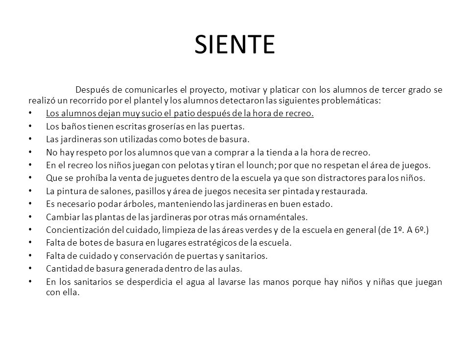 SIENTE