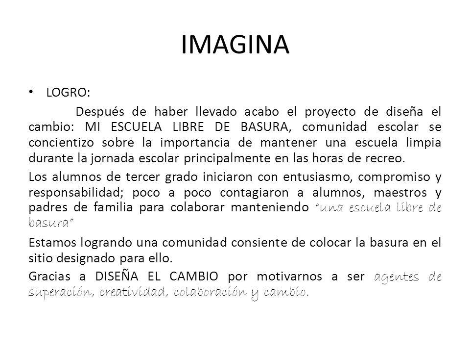 IMAGINA LOGRO: