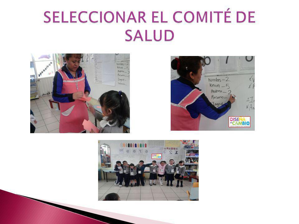 SELECCIONAR EL COMITÉ DE SALUD