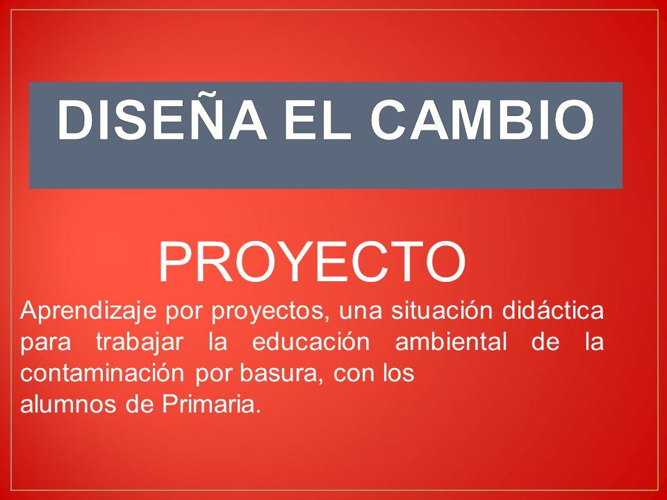 DISEÑA EL CAMBIO PROYECTO