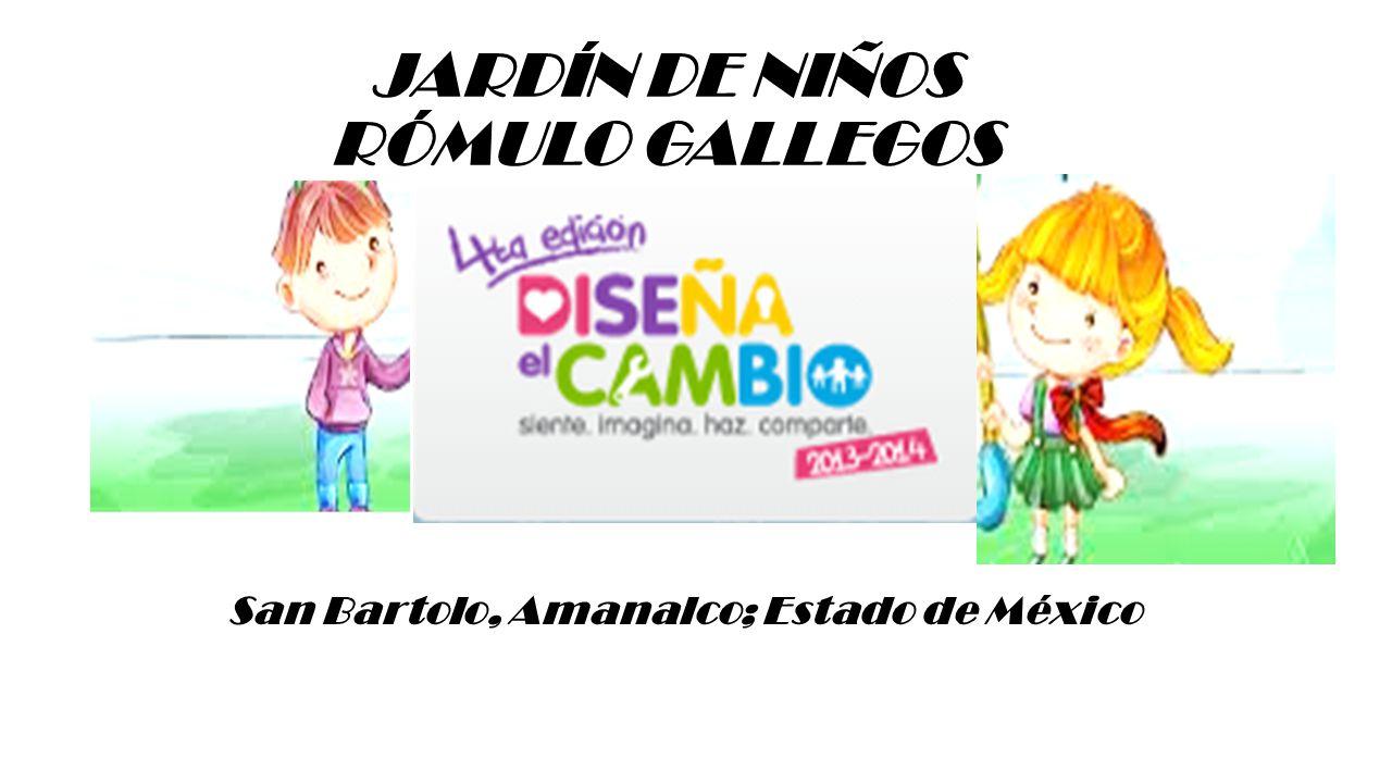 JARDÍN DE NIÑOS RÓMULO GALLEGOS