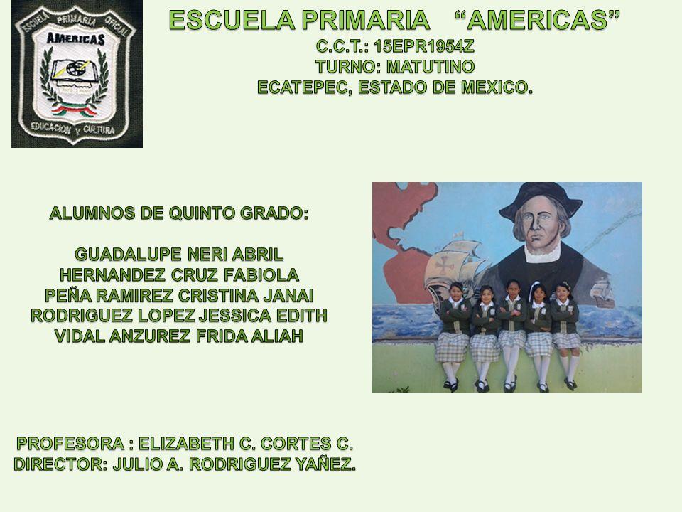 ESCUELA PRIMARIA AMERICAS