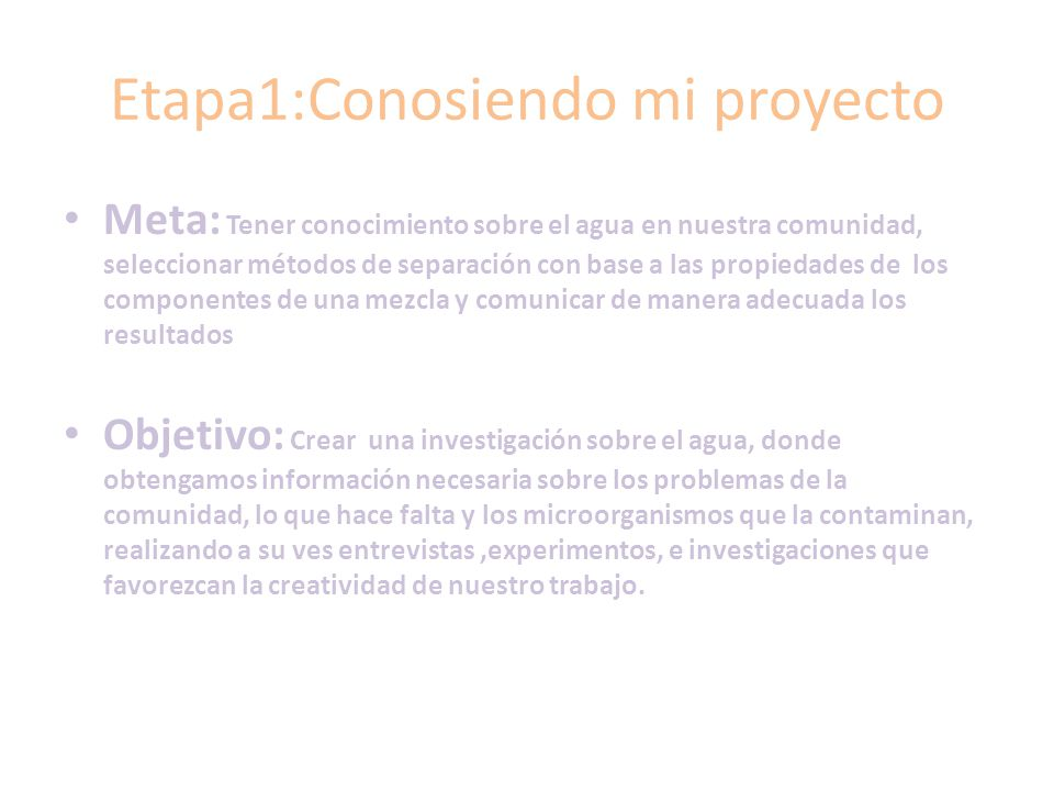 Etapa1:Conosiendo mi proyecto