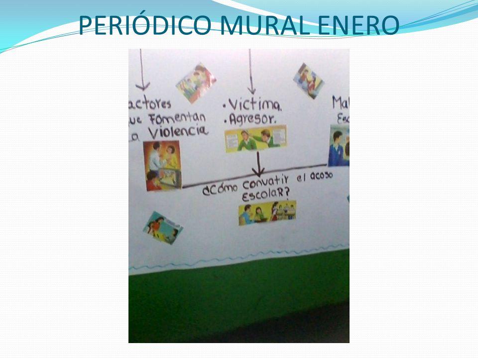 PERIÓDICO MURAL ENERO