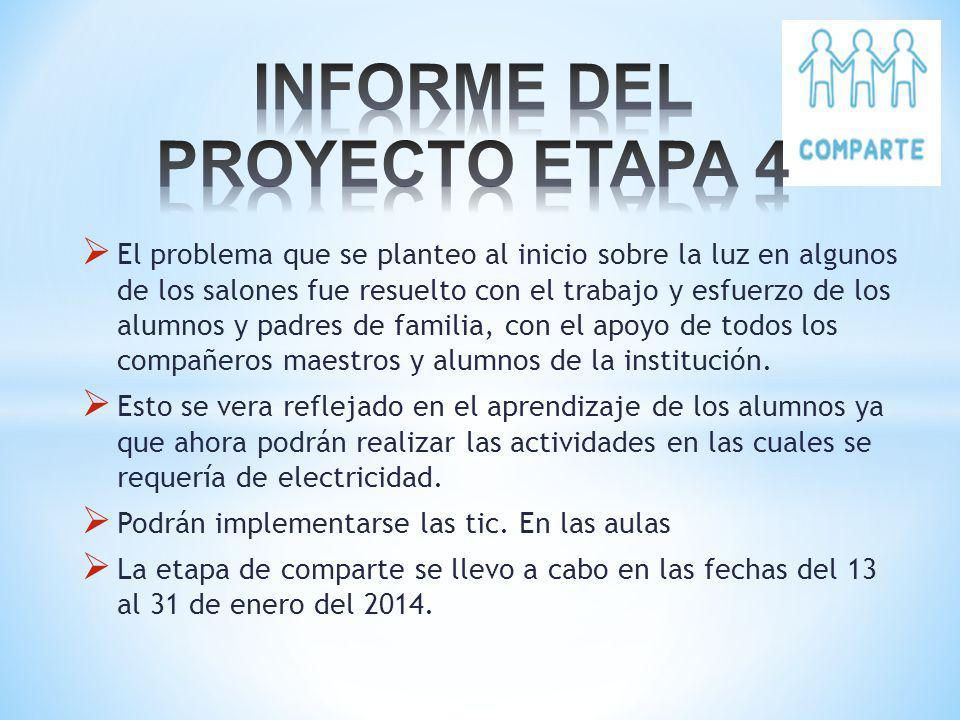INFORME DEL PROYECTO ETAPA 4