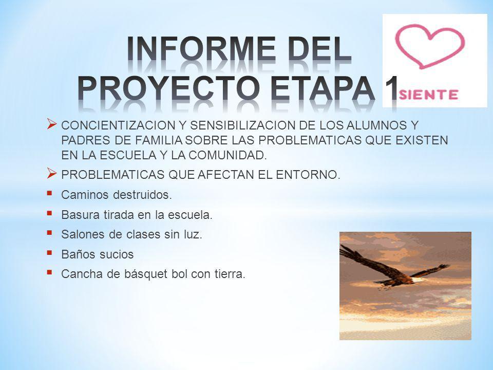 INFORME DEL PROYECTO ETAPA 1