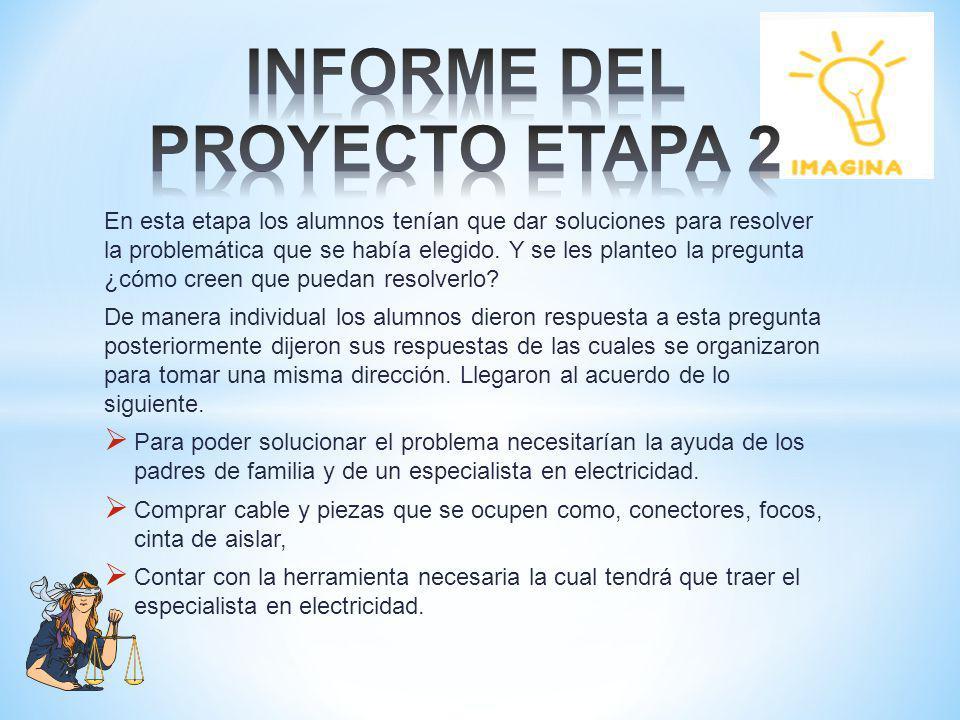 INFORME DEL PROYECTO ETAPA 2