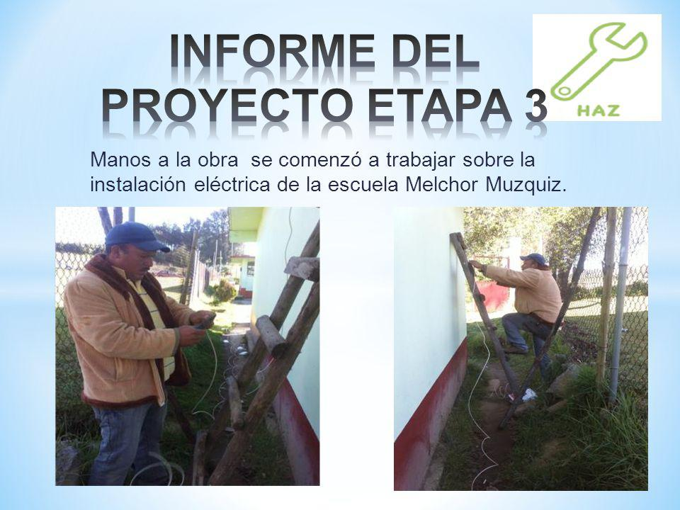 INFORME DEL PROYECTO ETAPA 3