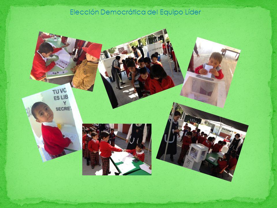 Elección Democrática del Equipo Líder