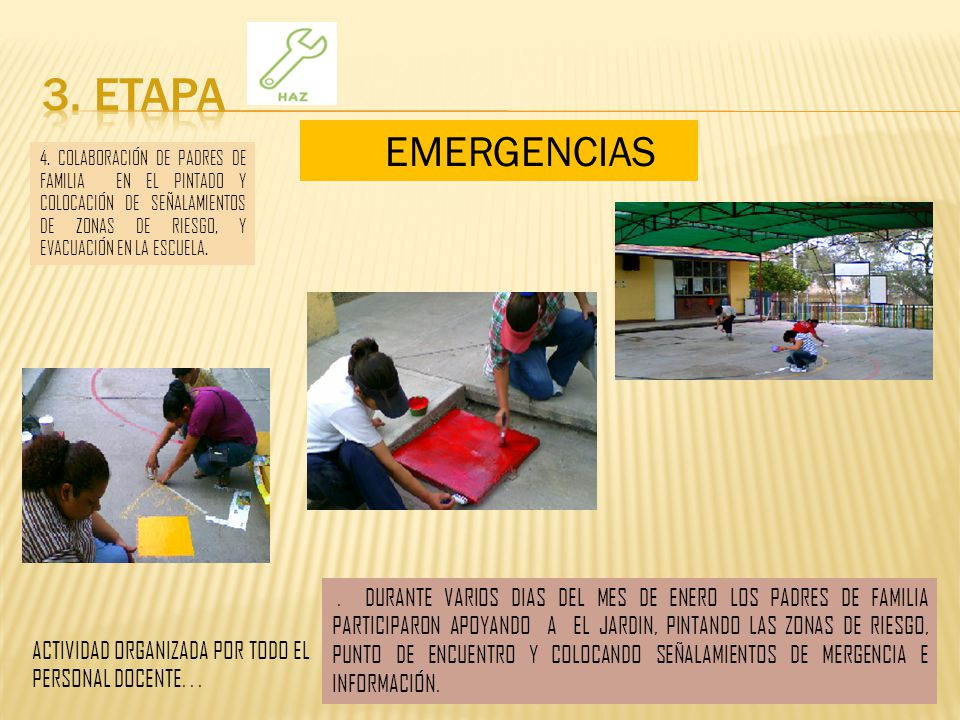 3. ETAPA EMERGENCIAS.