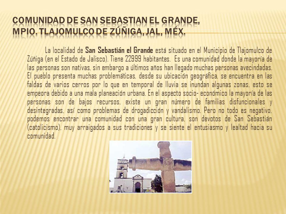 COMUNIDAD DE SAN SEBASTIAN EL GRANDE, MPIO