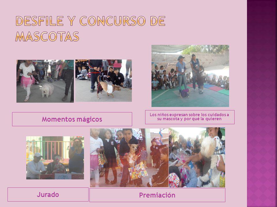 Desfile y concurso de mascotas