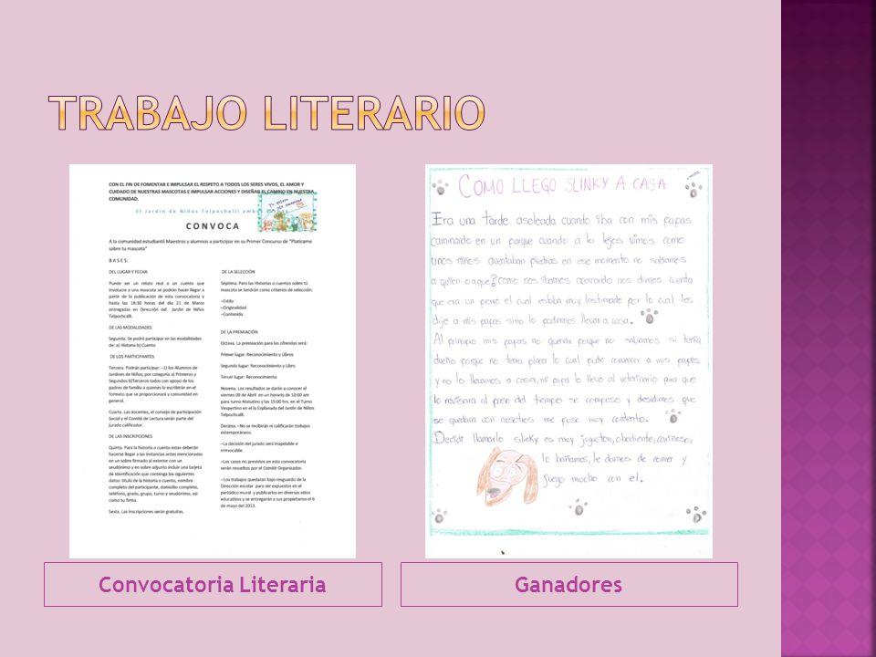 Convocatoria Literaria