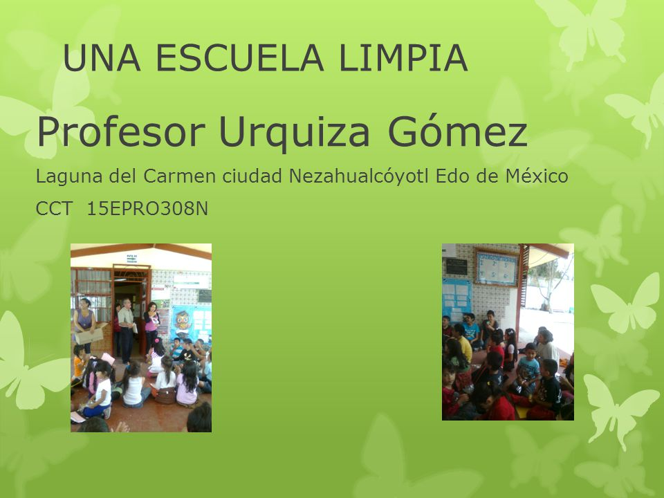 Profesor Urquiza Gómez