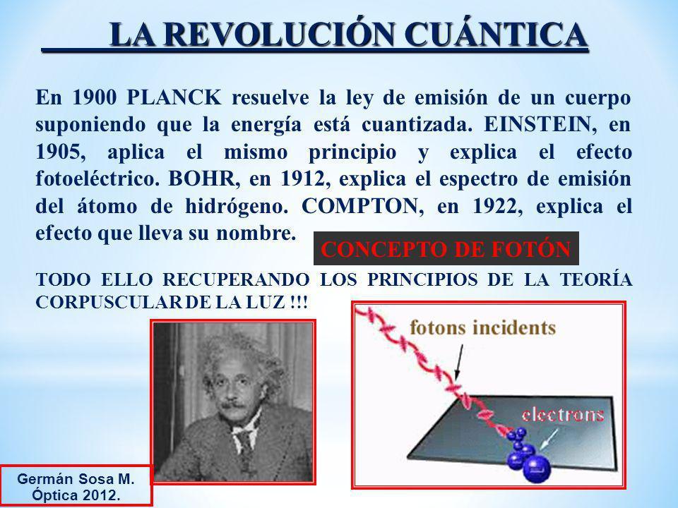 LA REVOLUCIÓN CUÁNTICA