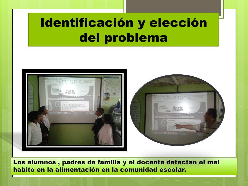 Identificación y elección del problema