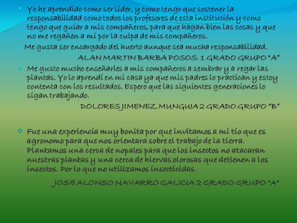 JOSE ALONSO NAVARRO GALICIA 2 GRADO GRUPO A