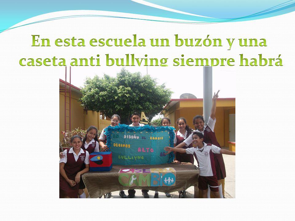 En esta escuela un buzón y una caseta anti bullying siempre habrá