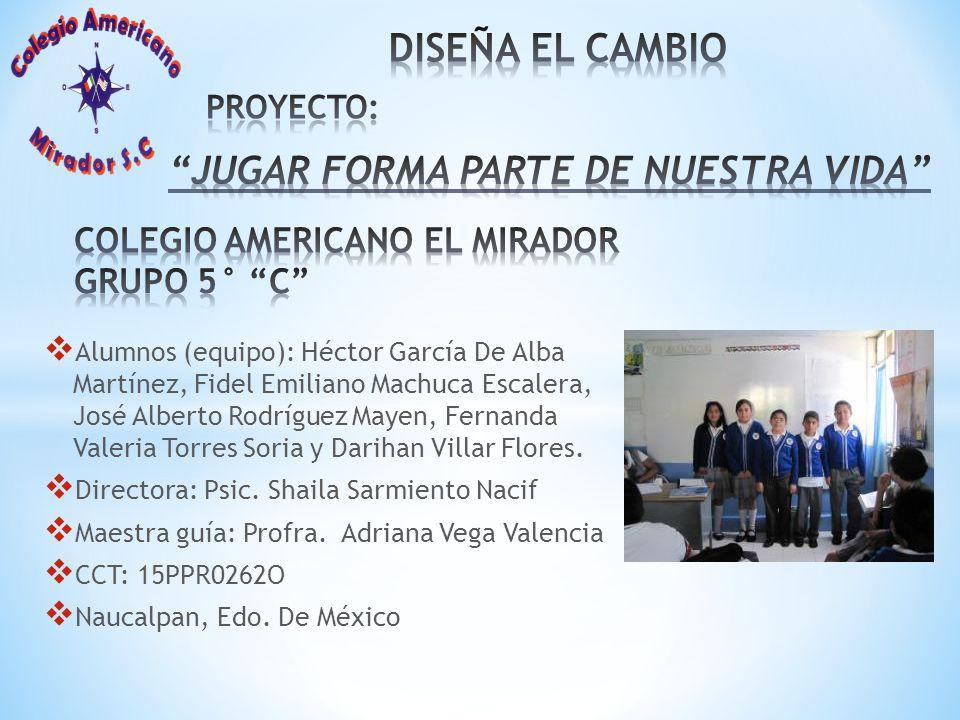 JUGAR FORMA PARTE DE NUESTRA VIDA