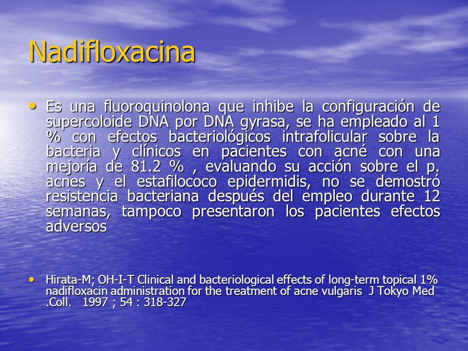 Nadifloxacina