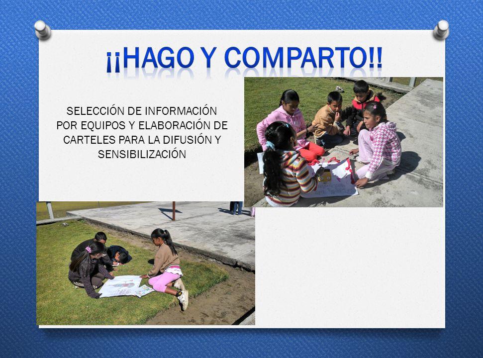 ¡¡HAGO Y COMPARTO!.