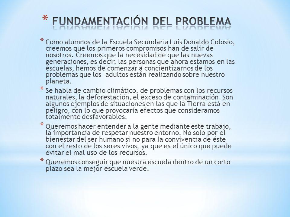 FUNDAMENTACIÓN DEL PROBLEMA